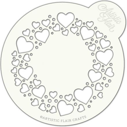 Circle of Love Cake Top