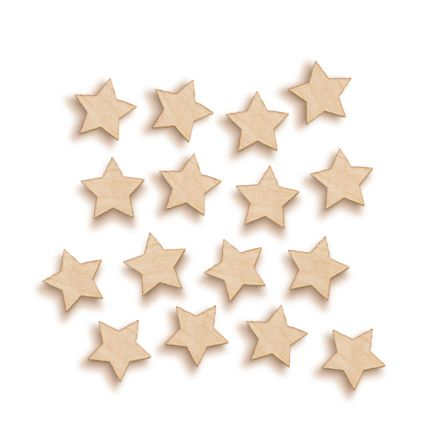 Solid Stars Woodies
